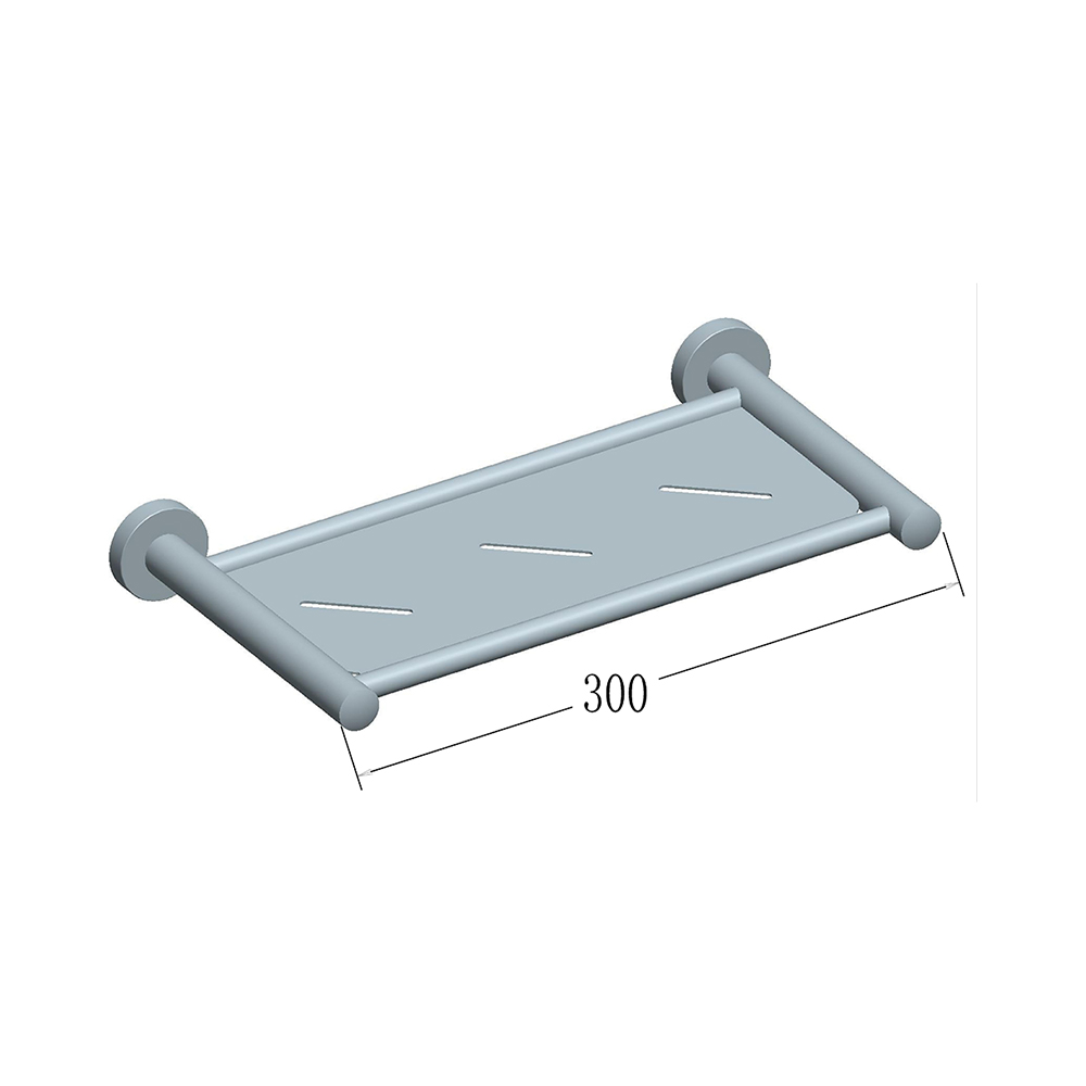 WISH Metal Shower Shelf 300mm | Alder Tapware